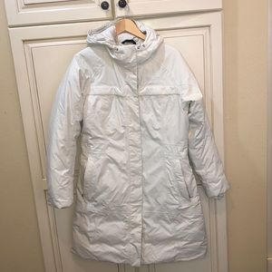 The north face down puffer parka jacket